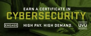cyber security degree UVU