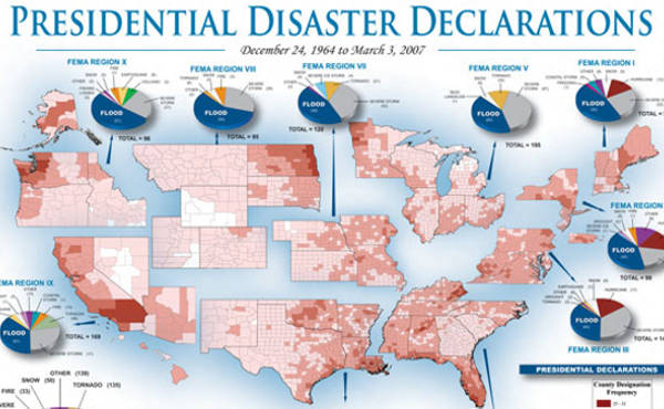 Presidential Disaster Risk Map