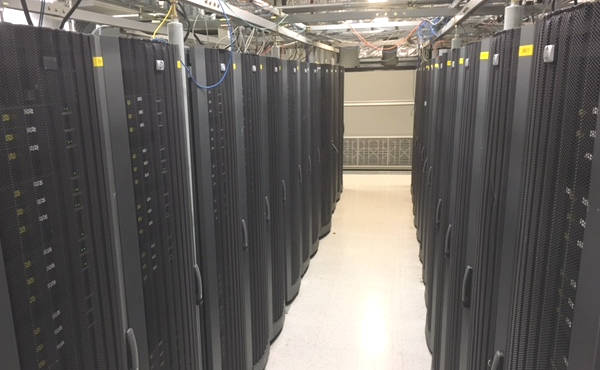 San Jose Silicon Valley Data Center Row